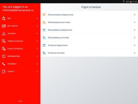 Aeroexpress screenshot 8