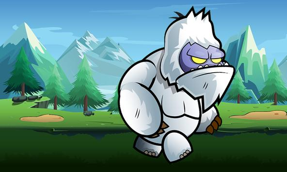 Yeti World Adventure Runner apk screenshot