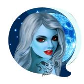 Чат Знакомств Galaxy  🎃 Общение Онлайн иконка