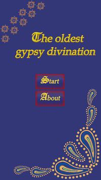 The oldest gypsy divination poster