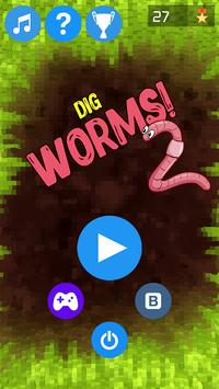 Dig Worms Go! poster