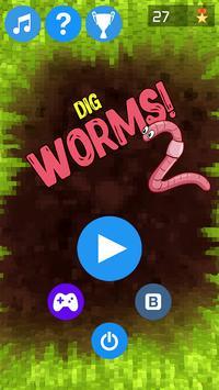 Dig Worms Go! apk screenshot