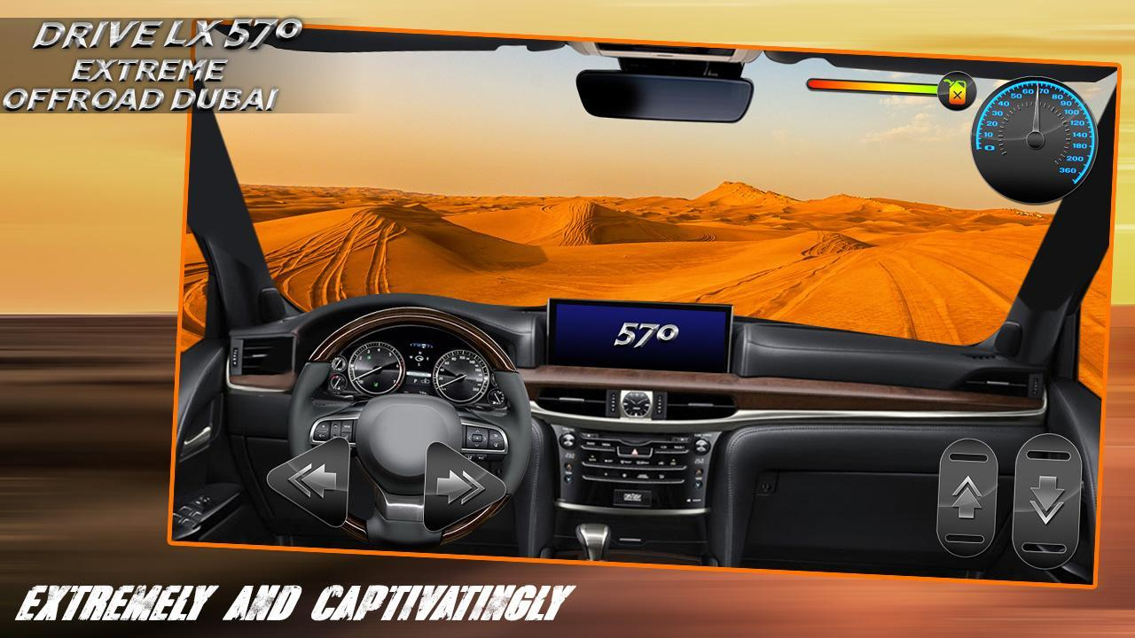 Drive LX 570 Extreme Offroad Dubai for Android - APK Download