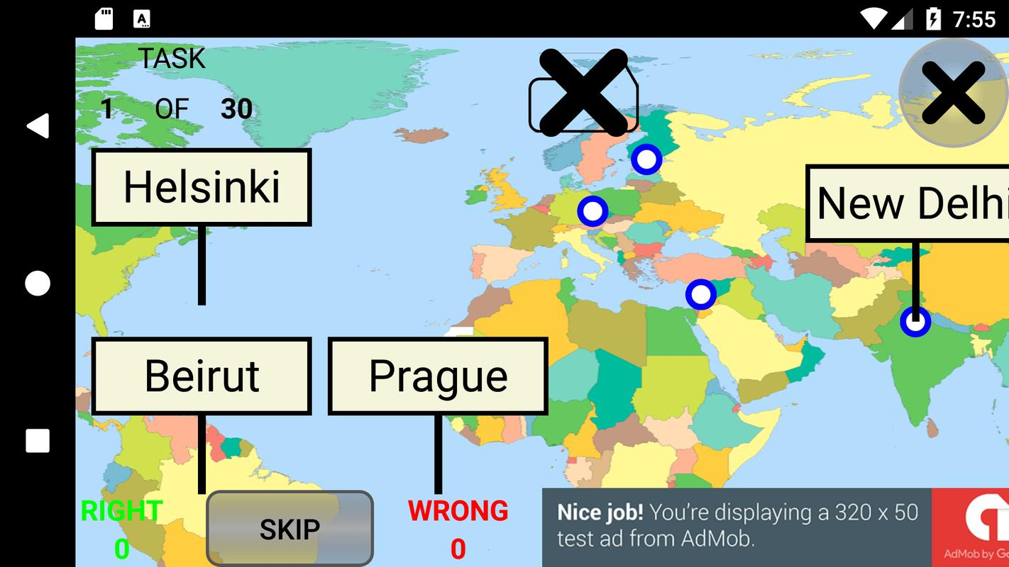 Countries capitals and flags quiz for android apk download capitals and flags quiz screenshot 3 gumiabroncs Gallery