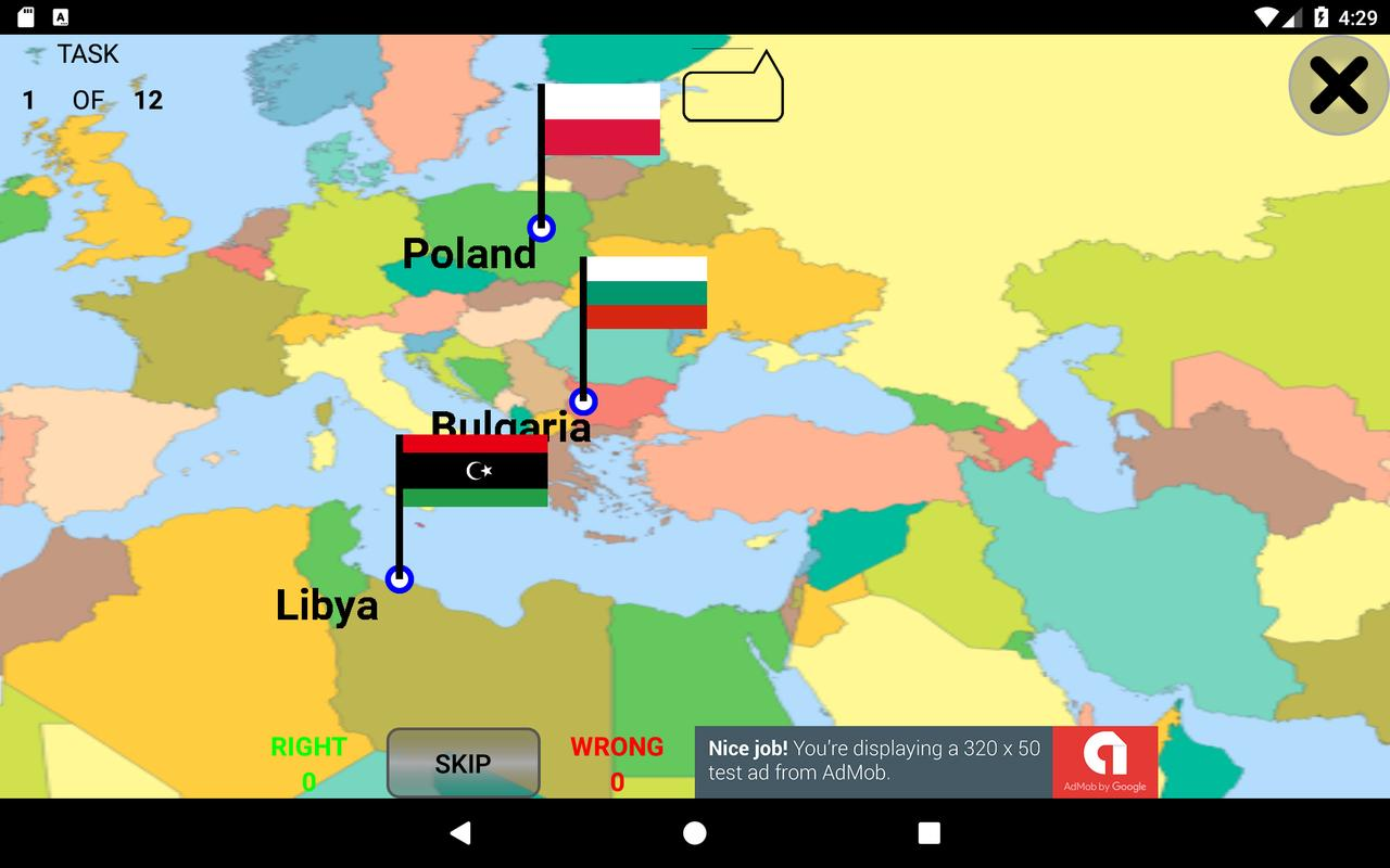 Countries capitals and flags quiz for android apk download capitals and flags quiz screenshot 9 gumiabroncs Gallery