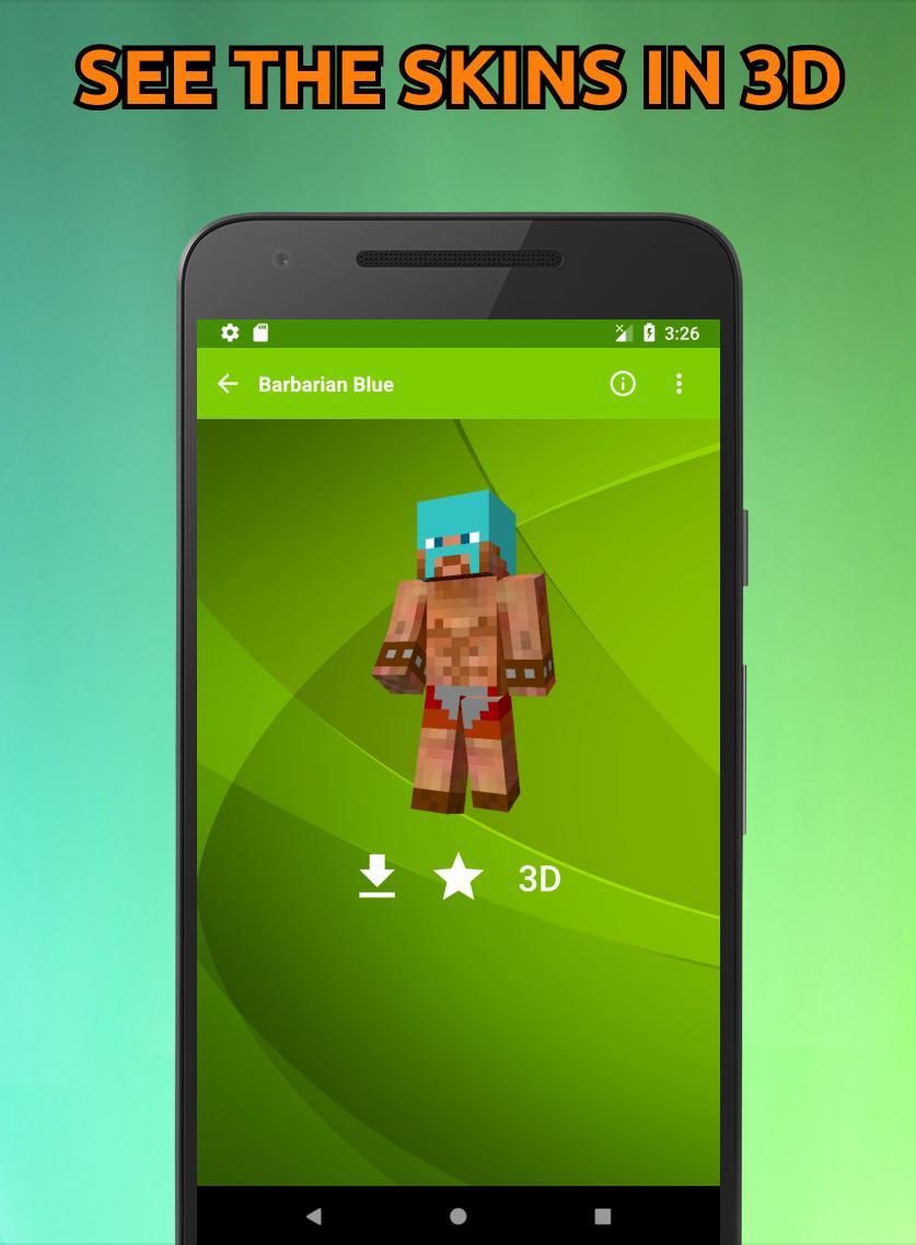 As Peles De Clash Of Clans Para Minecraft Pe 3d Para Android Apk