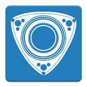 Rotary compression tester icon