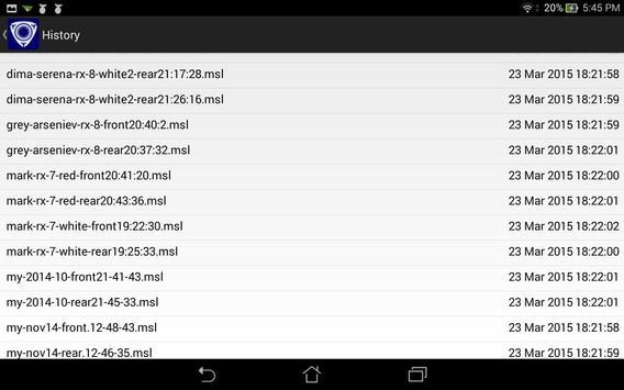 Rotary compression tester screenshot 1