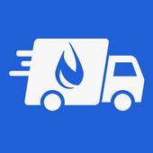 Водитель доставки icon