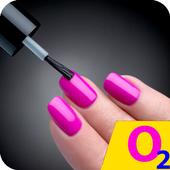 The nail design. Nail salon. Manicure 2018 icon