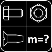 Калькулятор веса крепежа icon