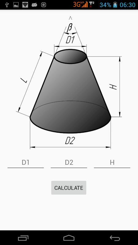 truncated cone template - flat pattern cone apk baixar gr tis produtividade