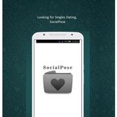 Free Dating Site : SocialPose icon