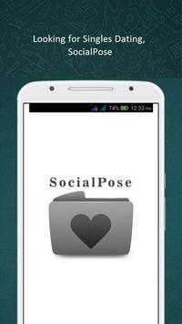 Free Dating Site : SocialPose poster