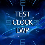 Test Clock LWP icon