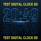 Test Digital Clock SD icon