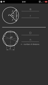 Chord length poster