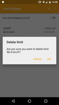 Limit Beeper apk screenshot