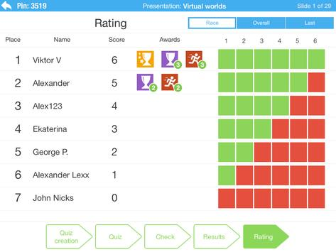 Lecture Racing. Student apk screenshot