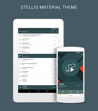 Stellio Material Theme apk screenshot