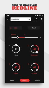 Stellio Redline Theme apk screenshot