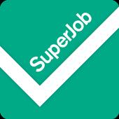Работа Superjob: поиск вакансии и создание резюме иконка