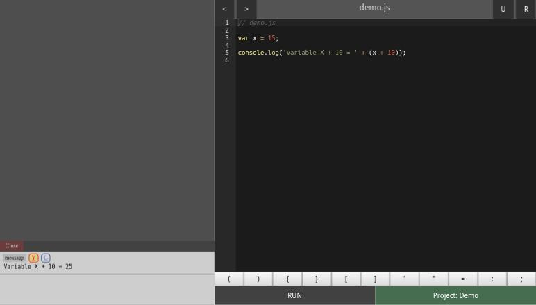 IDE for JavaScript Game Coder for Android - APK Download