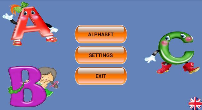 The alphabet for children screenshot 4