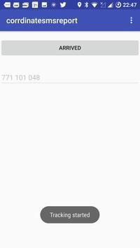 SMS Location Sender screenshot 1