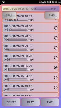 Call Recorder Simple apk screenshot
