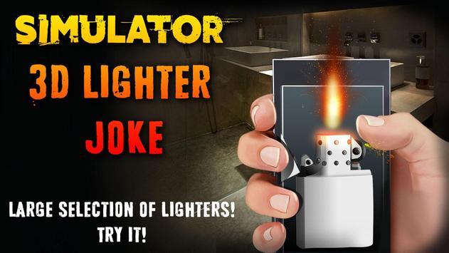 Simulator 3D Lighter Joke apk screenshot