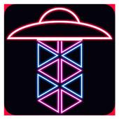 Stickman UFO Attacks icon