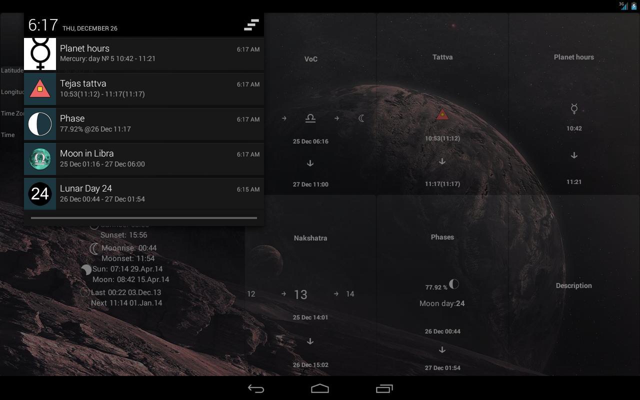 Android için Ay Takvimi Lite - APK'yı İndir