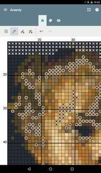 eCanvas for cross-stitch screenshot 7