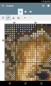 eCanvas for cross-stitch screenshot 1