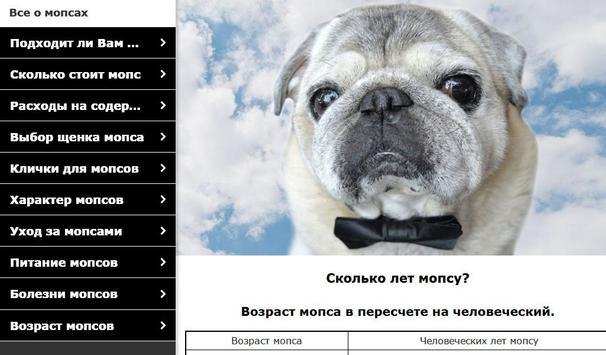 Мопс - выбор собаки screenshot 7