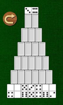 Пирамида - пасьянс из домино screenshot 1