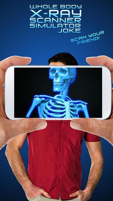 Ganzkörper-Röntgen-Scanner Simulator Witz für Android - APK ...