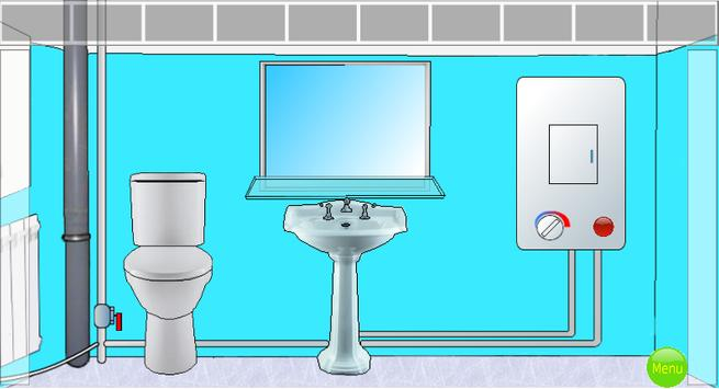 Room escape: Bathroom escaper APK تحميل - مجاني الألغاز ألعاب ...
