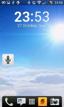 SimpleClockWidget apk screenshot