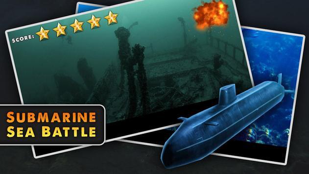 Submarine Sea Battle screenshot 1