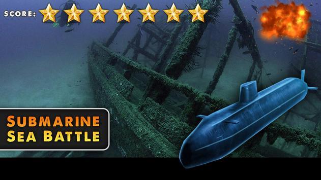 Submarine Sea Battle screenshot 2