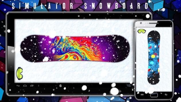 Simulator Snowboard poster