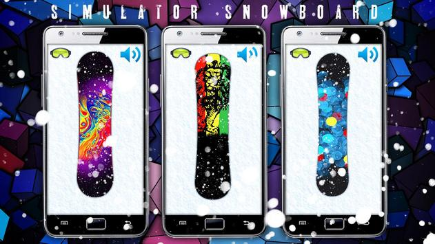 Simulator Snowboard screenshot 1