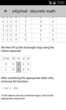 eXpimal - discrete math 截圖 4