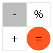 Calculator without advertising icon