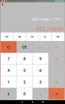 Calculator without advertising screenshot 5