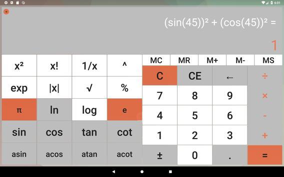 Calculator without advertising screenshot 8