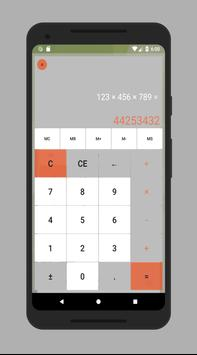 Calculator without advertising poster