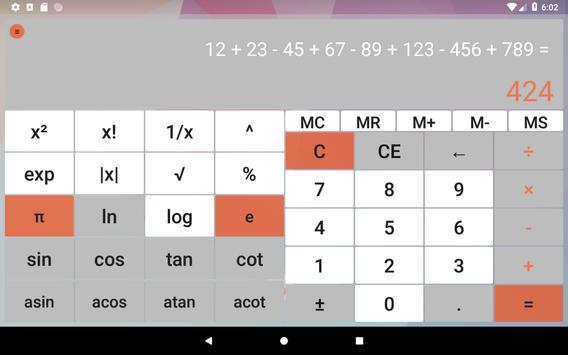 Calculator without advertising screenshot 12